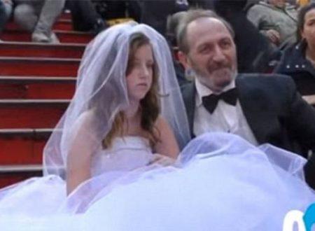 Il matrimonio tra un anziano e una ragazzina: come reagisce la gente