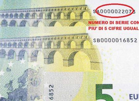 La banconota da 5 euro che vale una fortuna