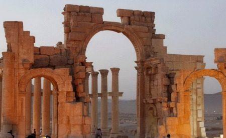 VIDEO, le prime, spettacolari immagini aeree di Palmira liberata dall'Isis – VIDEO
