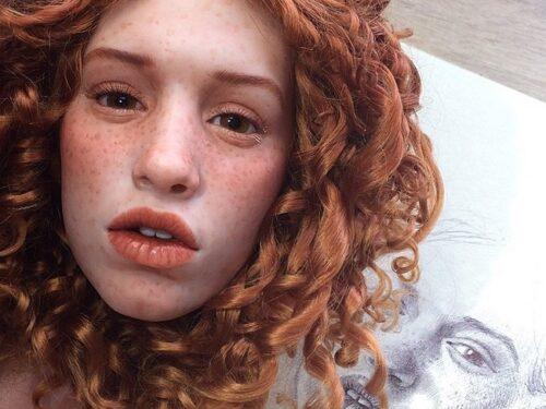 Un artista Russo Realizza Delle Bambole Talmente Realistiche da Mettere i Brividi