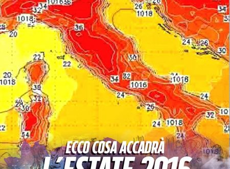 I METEOROLOGI NON LASCIANO DUBBI E LANCIANO L'ALLARME: ECCO COME SARA' L'ESTATE 2016