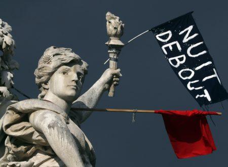 la Nuit Debout, il movimento che sta paralizzando la Francia contro una legge che è la fotocopia del Renziano jobs act