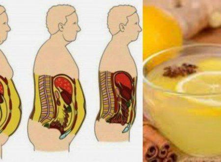 Si desidera rimuovere tutto il grasso dal ventre? Basta preparare questa semplice ricetta.