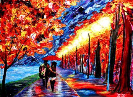Bramblitt, il pittore cieco che 'sente' i colori e crea quadri emozionanti