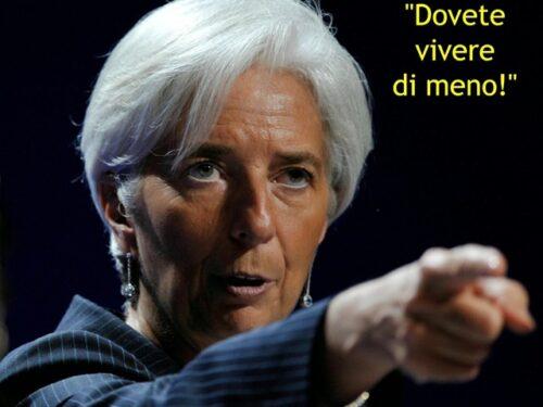 """Il FMI ha trovato la soluzione alla crisi economica: """"Dovete morire prima"""""""