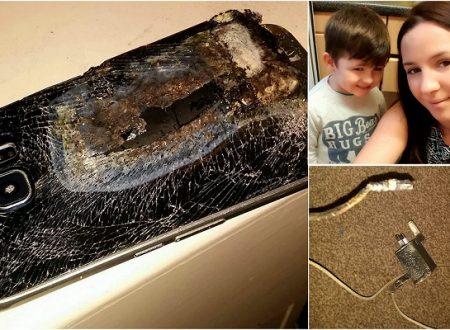 Esplode il Cellulare vicino al Figlio che Stava Dormendo