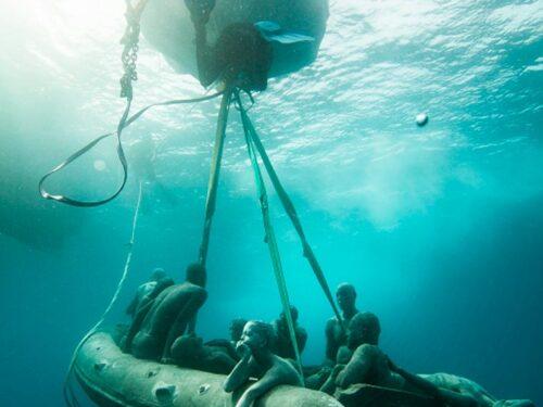Il commovente museo subacqueo dedicato ai migranti