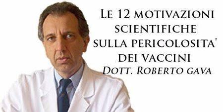 Dott. Roberto Gava – Vi spiego i pericoli dei vaccini