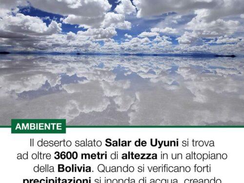 Il Salar de Uyuni:lo specchio naturale più grande del mondo